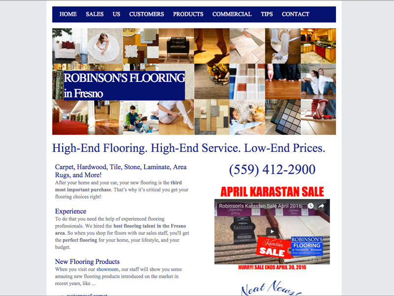Robinsons Flooring At Thomasville Andes And Associates
