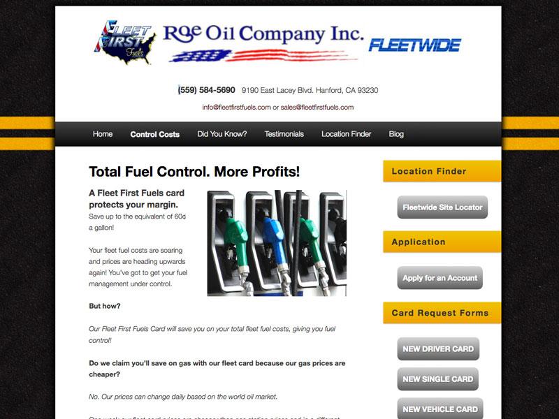 Roe Oil Fleetwide