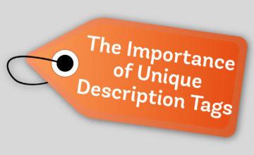 The Importance of Unique Description Tags