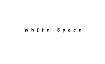 Improve your Website with White Space