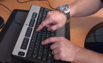 No-Look Typing: Put All Your Brain Power on the Subject