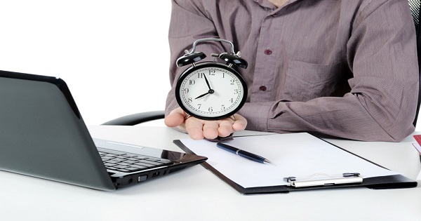 writer clock canstockphoto5157536 a