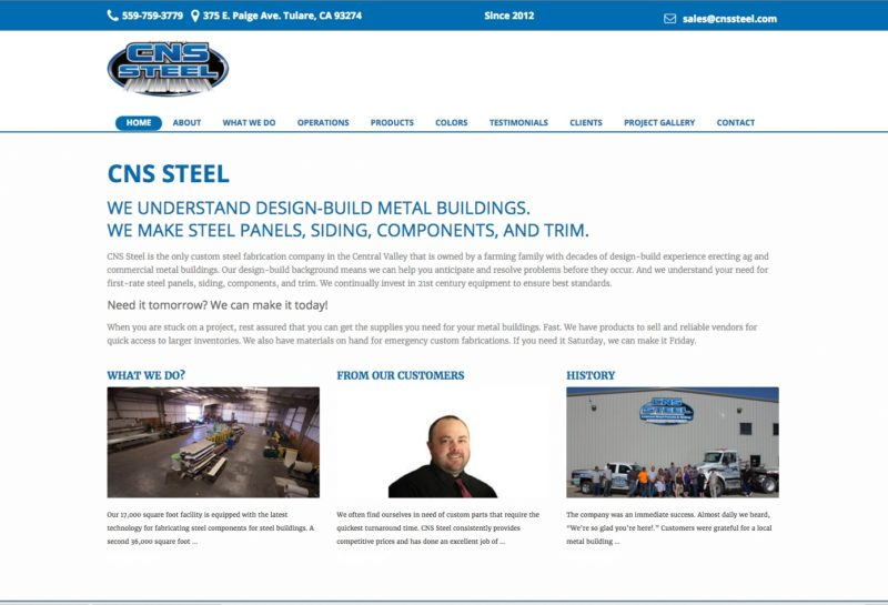 CNS Steel Fabrication Comapny