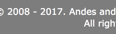 Every Year Update Your Copyright Dates On Your Website