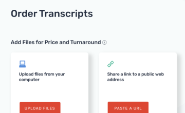 Rev: A Cool Transcription Tool