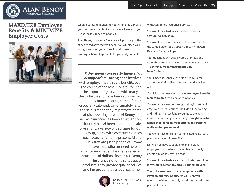 Alan Benoy Insurance