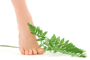 Foot with Fern