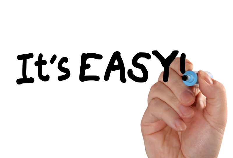 It's easy.