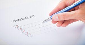 Web Tip Checklist